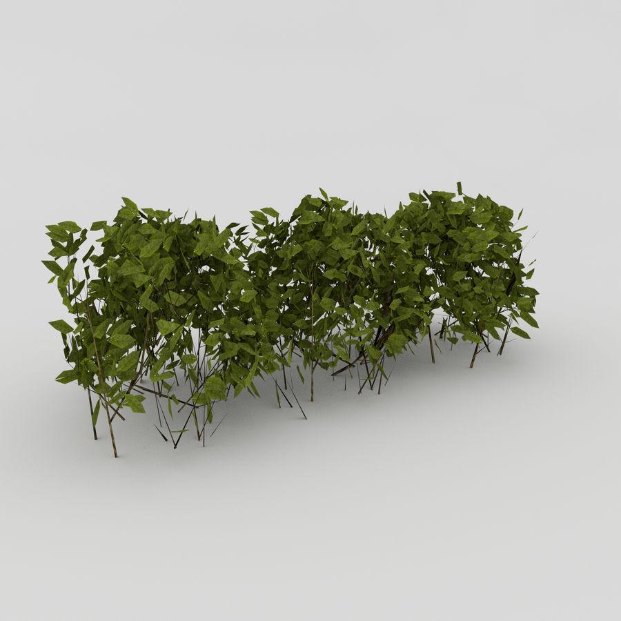 Bahçe mobilyaları ve bitkileri royalty-free 3d model - Preview no. 11