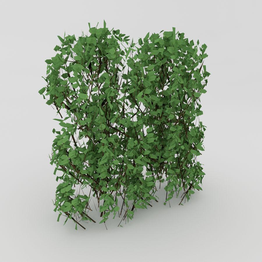 Bahçe mobilyaları ve bitkileri royalty-free 3d model - Preview no. 7