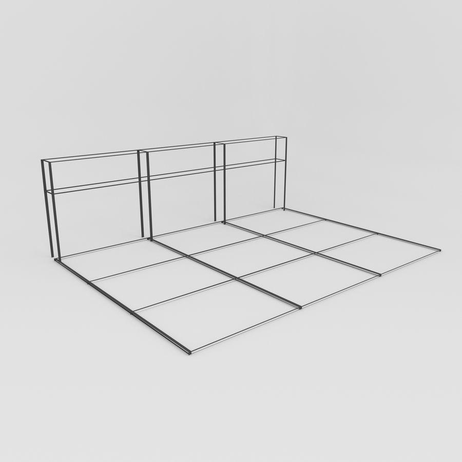 Bahçe mobilyaları ve bitkileri royalty-free 3d model - Preview no. 16