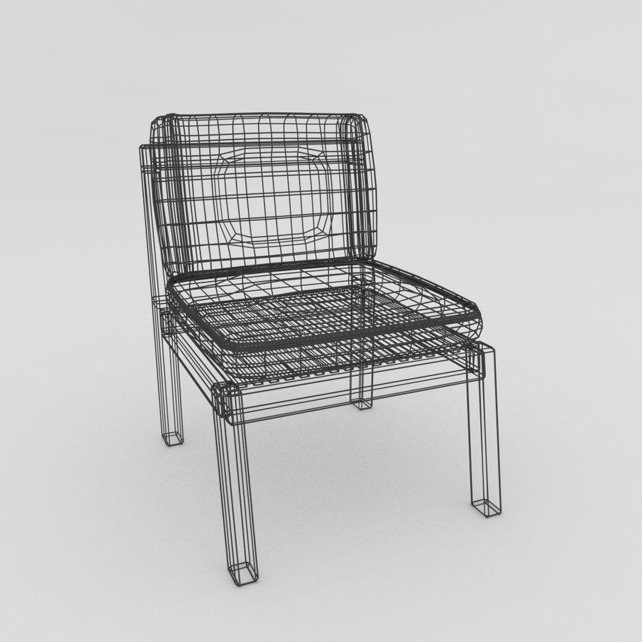 Bahçe mobilyaları ve bitkileri royalty-free 3d model - Preview no. 6