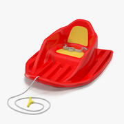 Sled For Kid 3d model