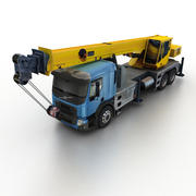 Volvo FE Crane 2013 modelo 3d