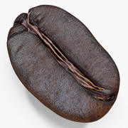 Roasted Coffee Bean 5 3d model
