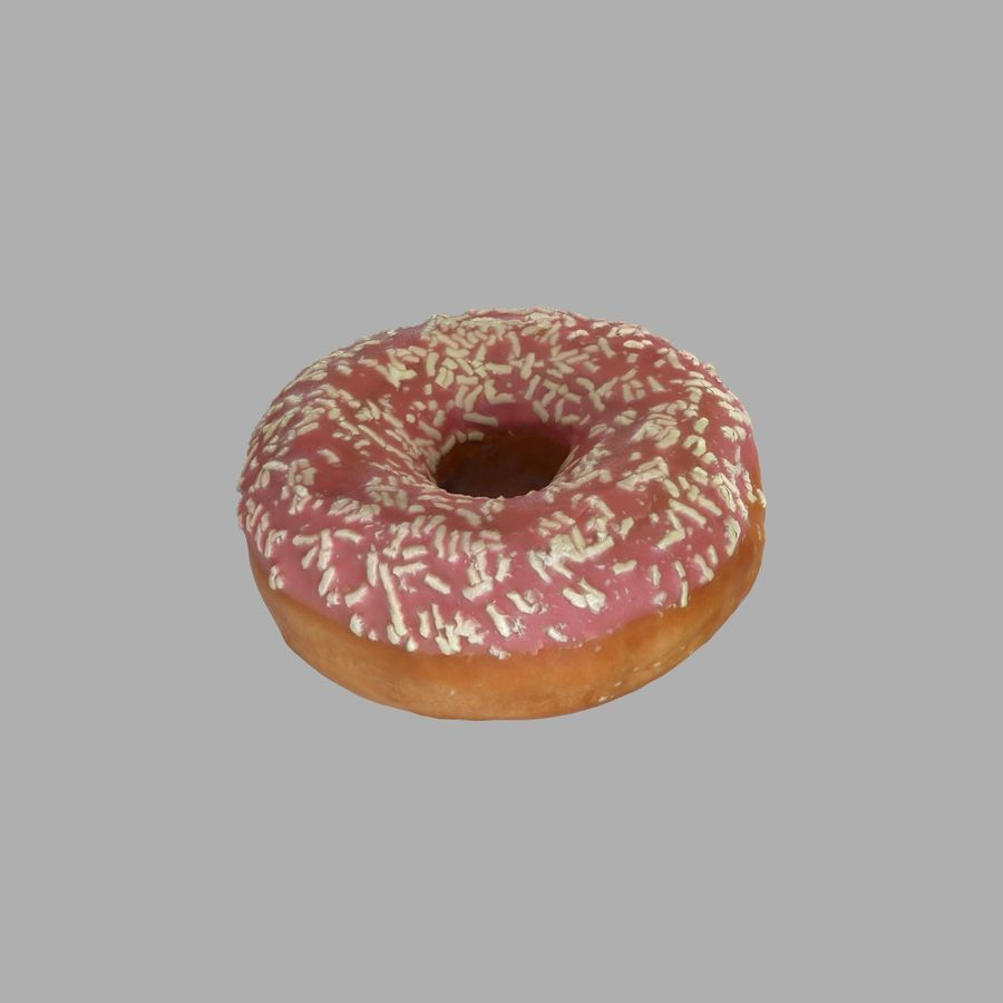 Collezione Donut royalty-free 3d model - Preview no. 35