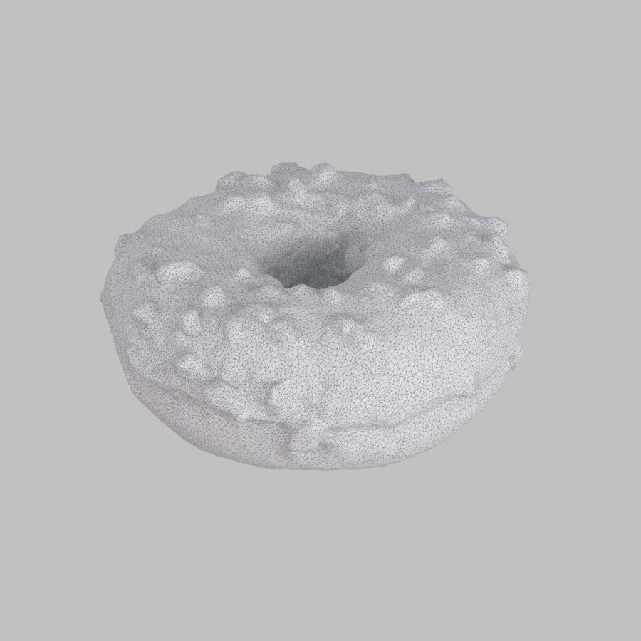 Collezione Donut royalty-free 3d model - Preview no. 22