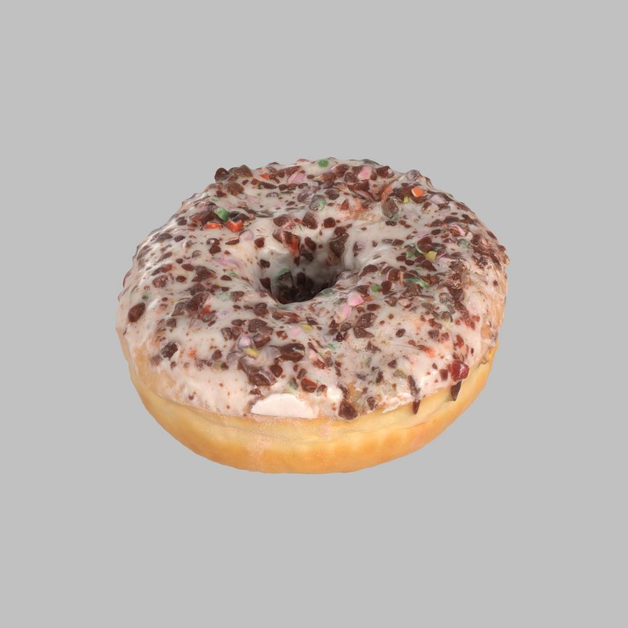 Collezione Donut royalty-free 3d model - Preview no. 32