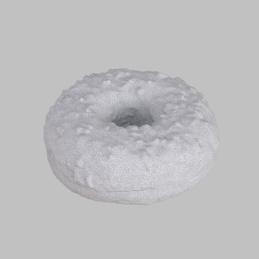 Collezione Donut royalty-free 3d model - Preview no. 10