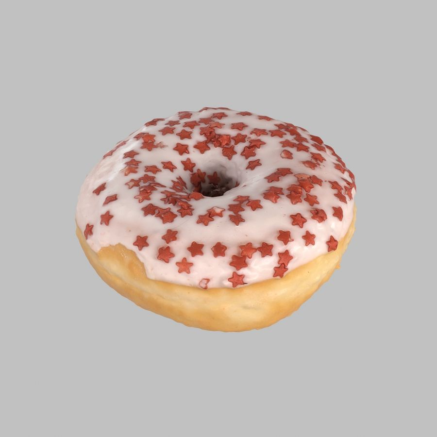 Collezione Donut royalty-free 3d model - Preview no. 23