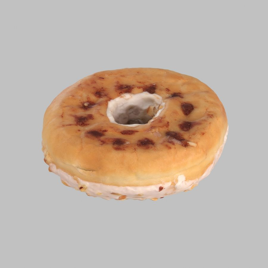Collezione Donut royalty-free 3d model - Preview no. 9