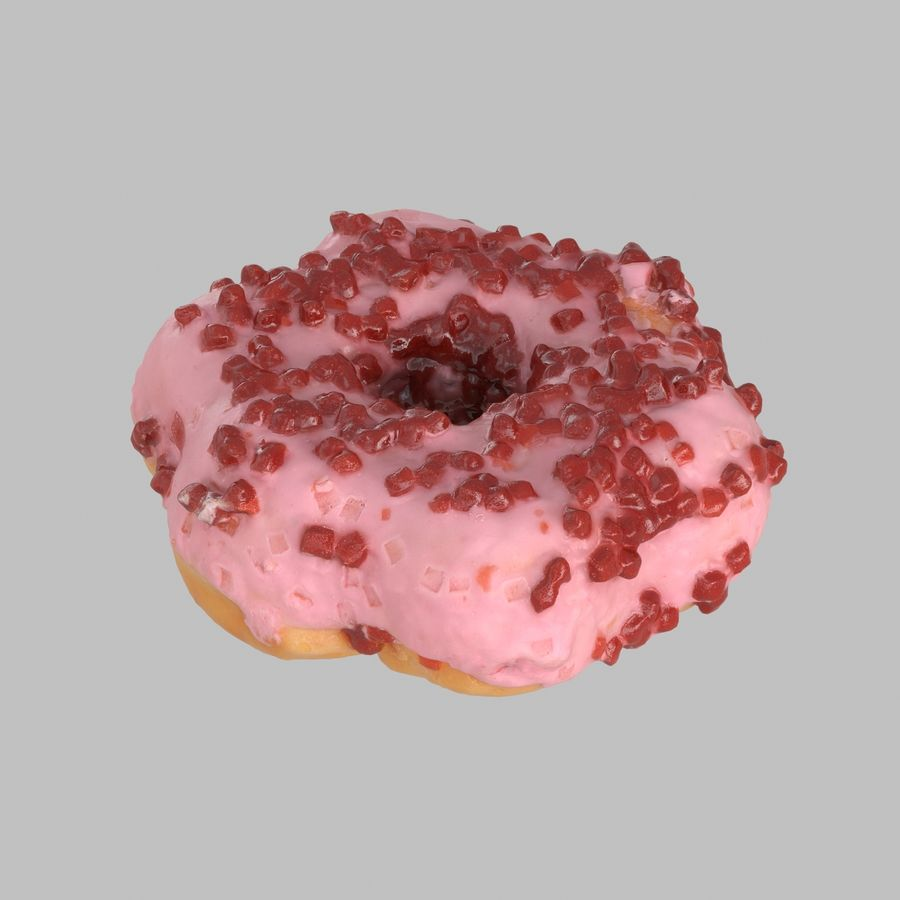 Collezione Donut royalty-free 3d model - Preview no. 29