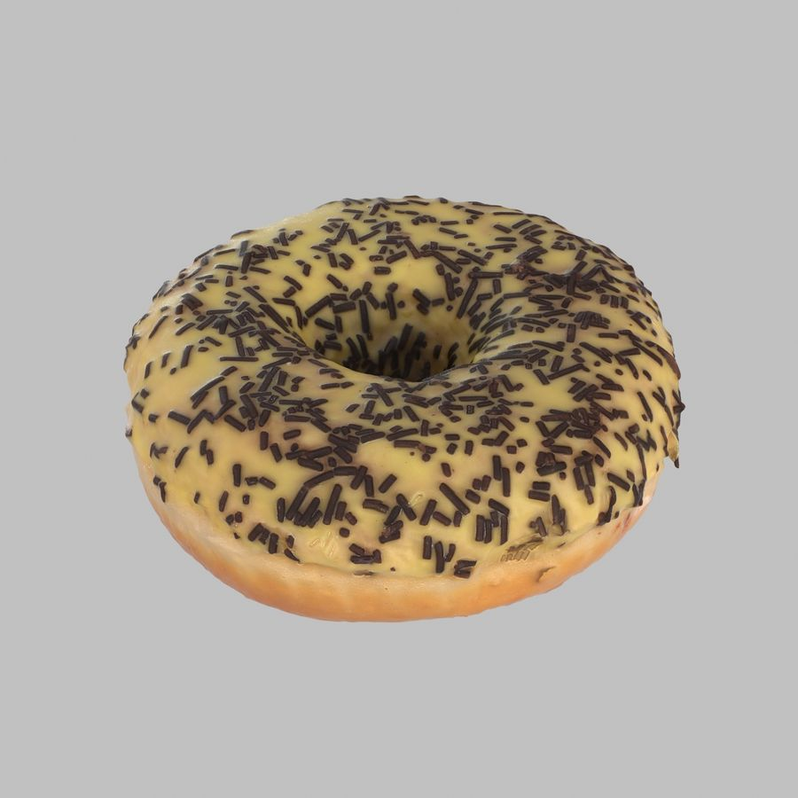Collezione Donut royalty-free 3d model - Preview no. 14