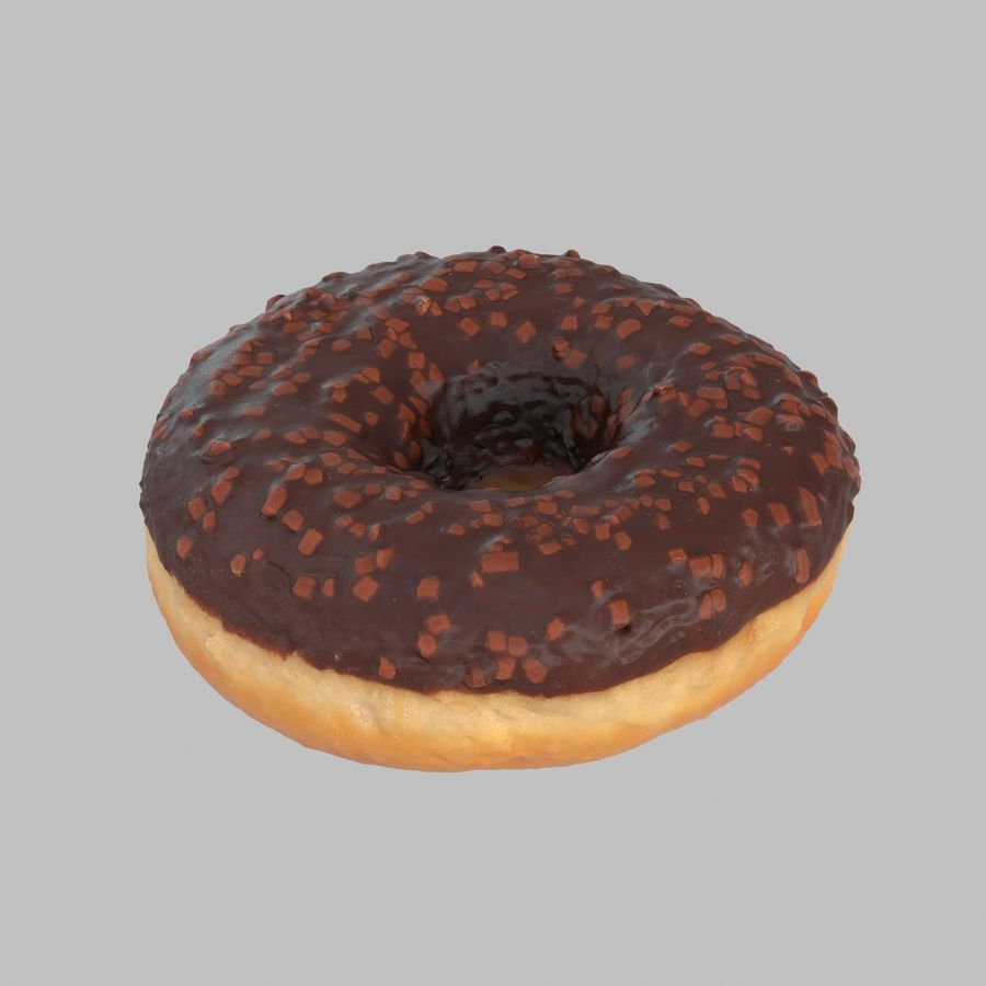 Collezione Donut royalty-free 3d model - Preview no. 11