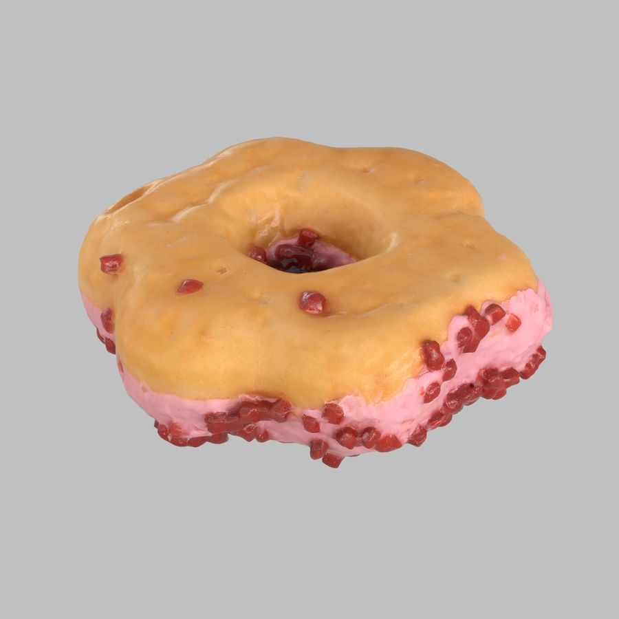 Collezione Donut royalty-free 3d model - Preview no. 30