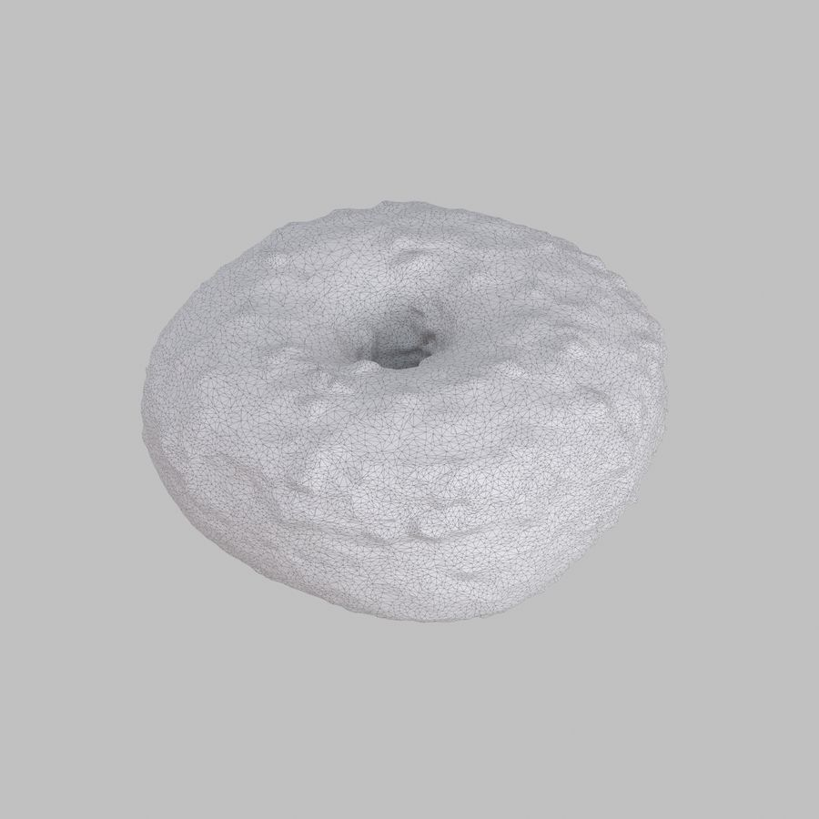 Collezione Donut royalty-free 3d model - Preview no. 25