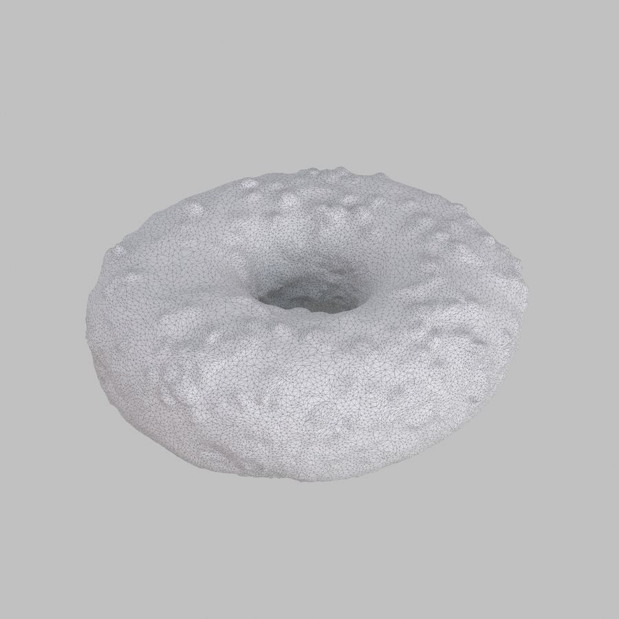 Collezione Donut royalty-free 3d model - Preview no. 4