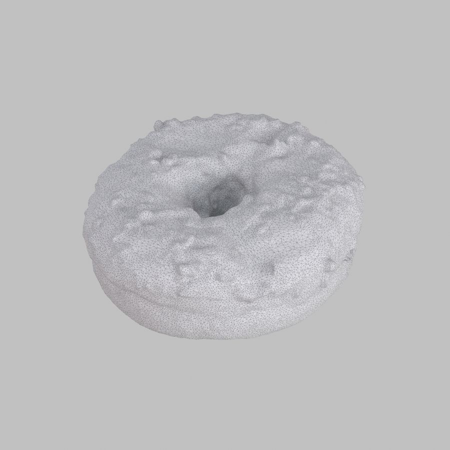 Collezione Donut royalty-free 3d model - Preview no. 34