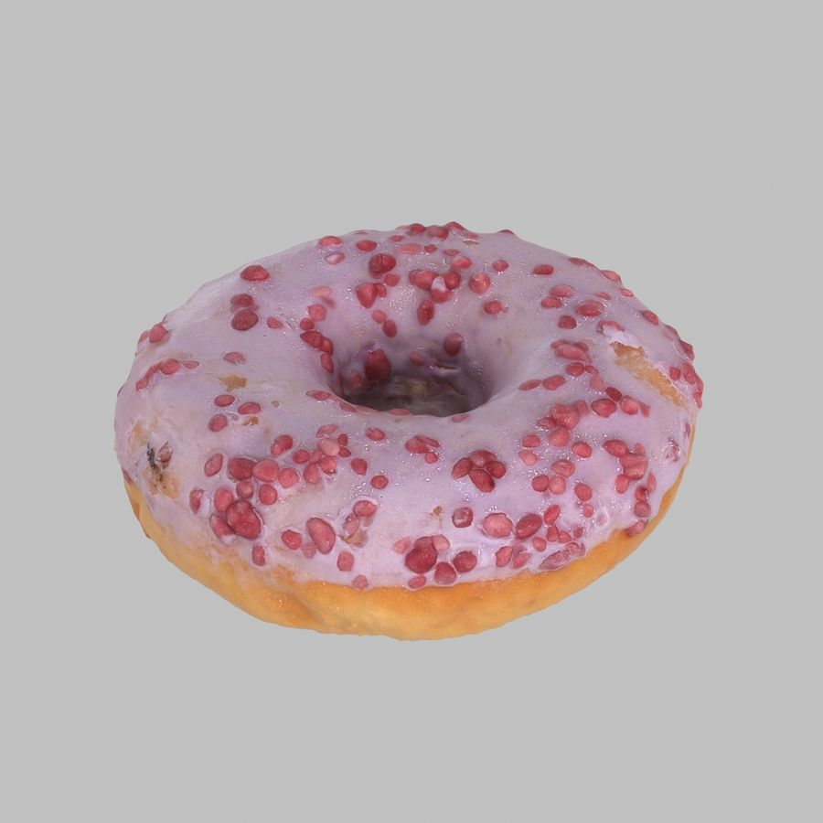 Collezione Donut royalty-free 3d model - Preview no. 2