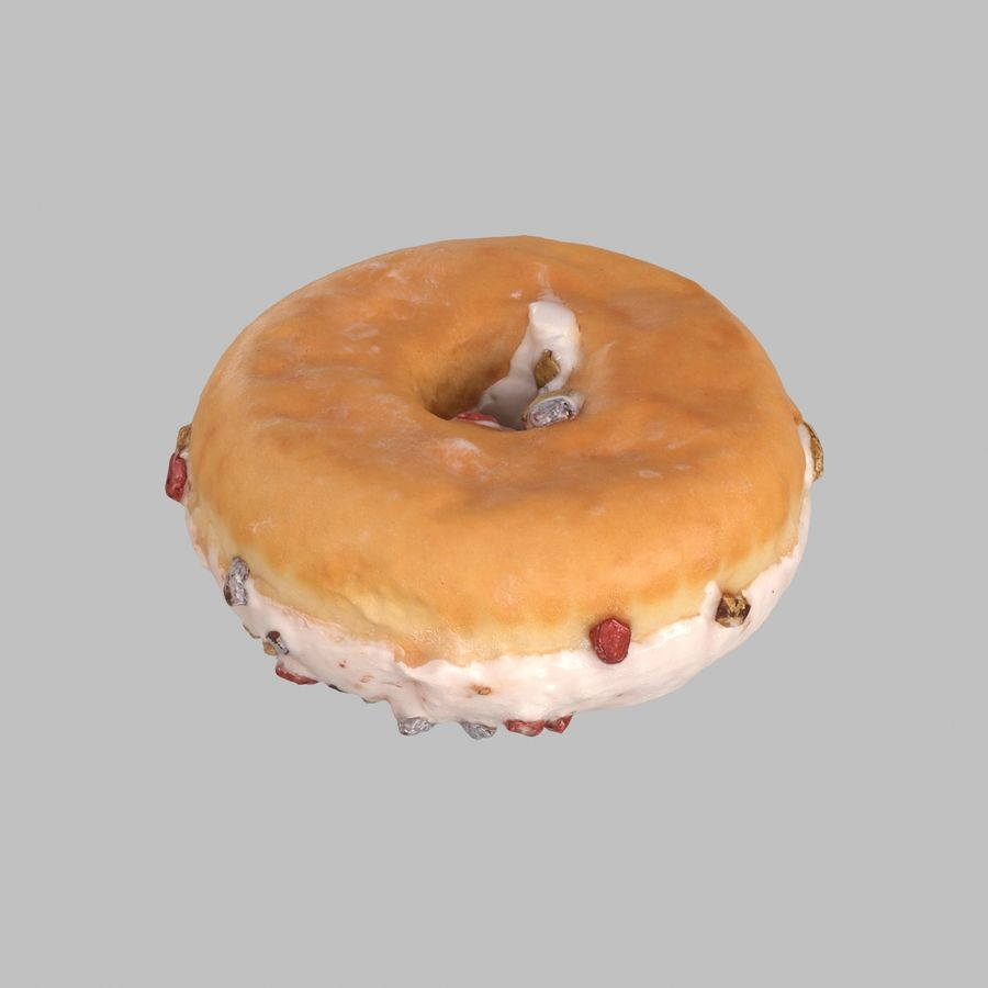 Collezione Donut royalty-free 3d model - Preview no. 21