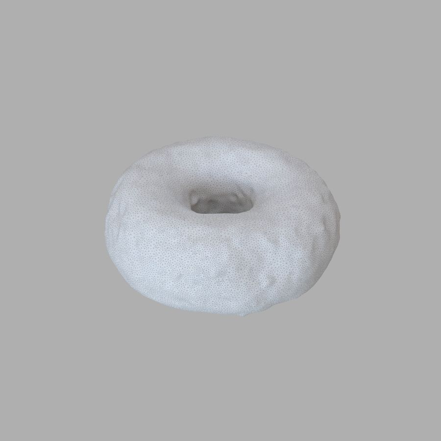 Collezione Donut royalty-free 3d model - Preview no. 37