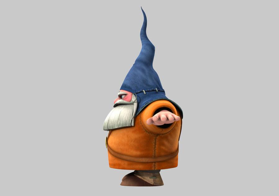 Cartoon_Gnome royalty-free 3d model - Preview no. 3
