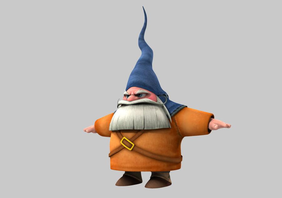 Cartoon_Gnome royalty-free 3d model - Preview no. 2
