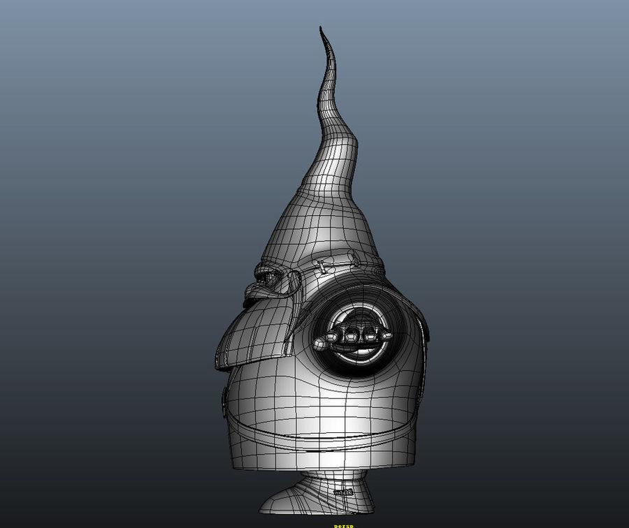 Cartoon_Gnome royalty-free 3d model - Preview no. 6