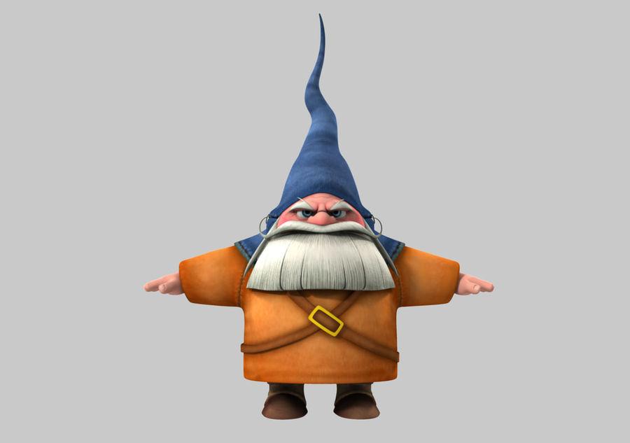 Cartoon_Gnome royalty-free 3d model - Preview no. 1