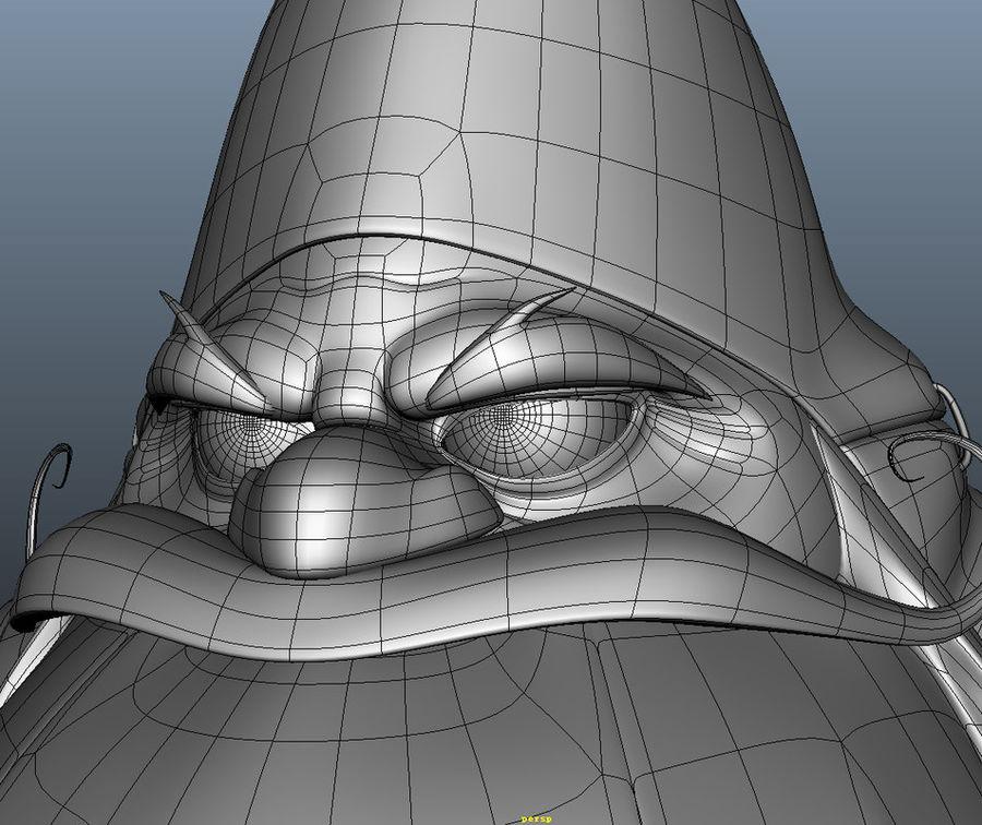 Cartoon_Gnome royalty-free 3d model - Preview no. 9