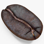 Roasted Coffee Bean 3 3d model