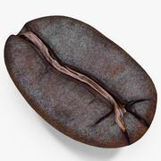 Жареный кофе в зернах 3 3d model