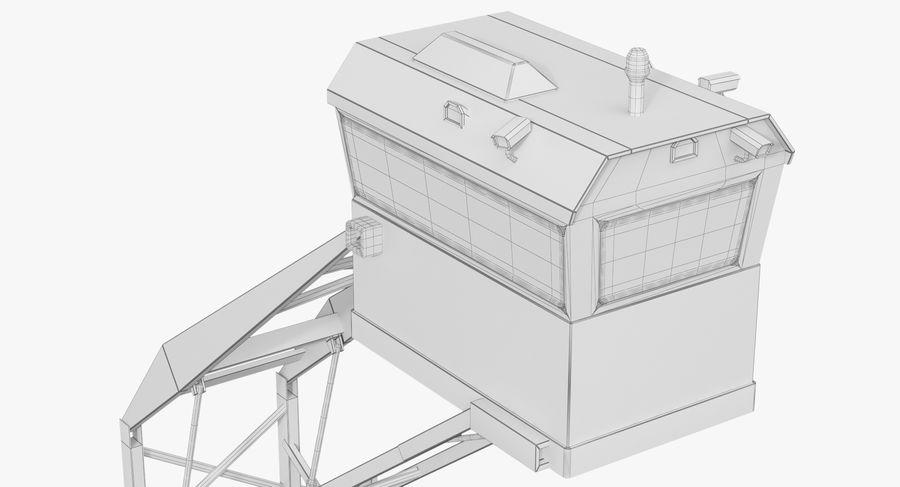 Wieża Skywatch royalty-free 3d model - Preview no. 36