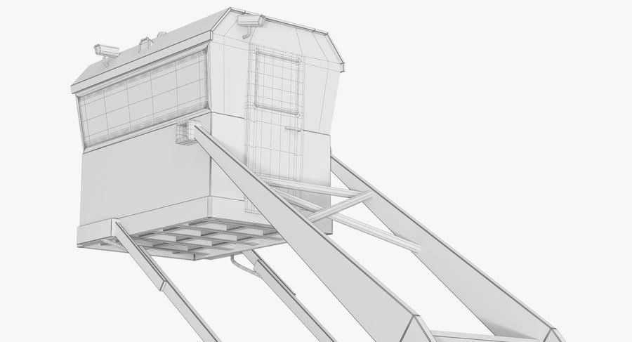 Wieża Skywatch royalty-free 3d model - Preview no. 32