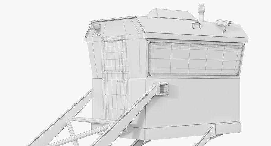 Wieża Skywatch royalty-free 3d model - Preview no. 35