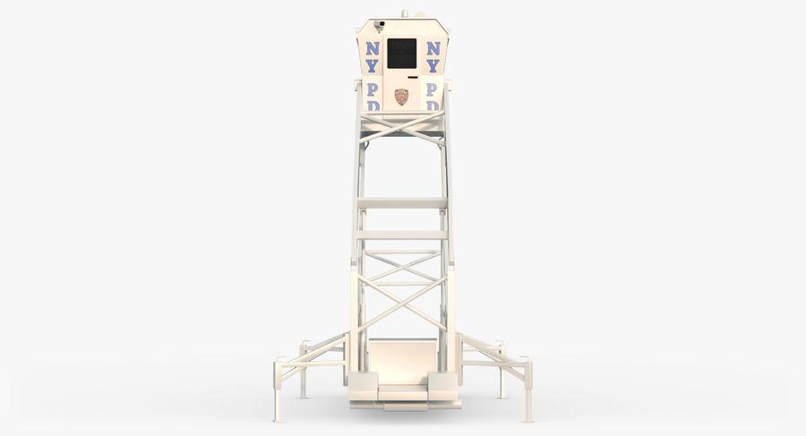 Wieża Skywatch royalty-free 3d model - Preview no. 12