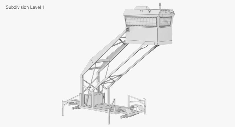 Wieża Skywatch royalty-free 3d model - Preview no. 38