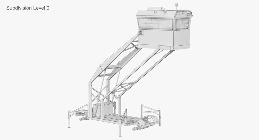Wieża Skywatch royalty-free 3d model - Preview no. 37