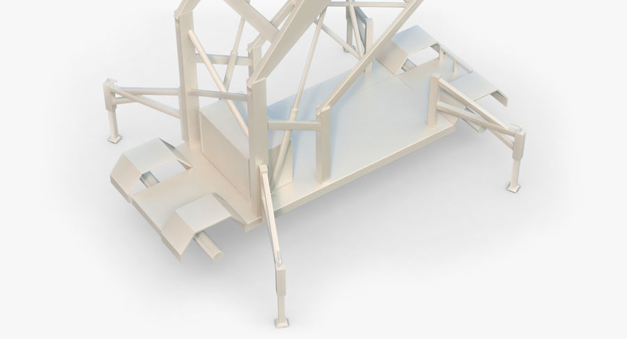 Wieża Skywatch royalty-free 3d model - Preview no. 21