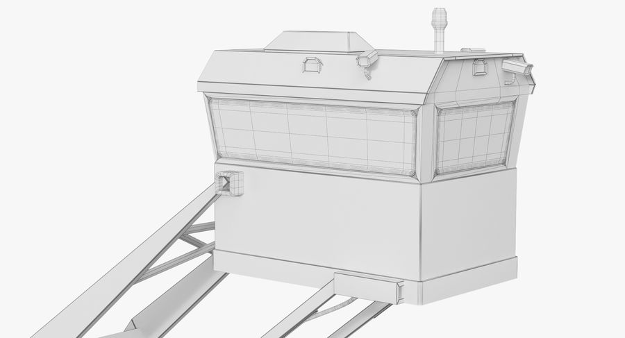Wieża Skywatch royalty-free 3d model - Preview no. 31