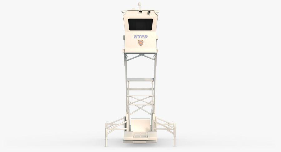 Wieża Skywatch royalty-free 3d model - Preview no. 11