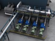 Impianto geotermico 3d model