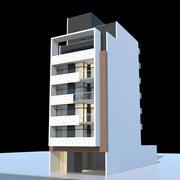 Edificio residencial 01 modelo 3d