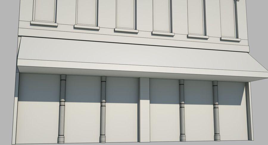 Visitors Bureau Building royalty-free 3d model - Preview no. 30