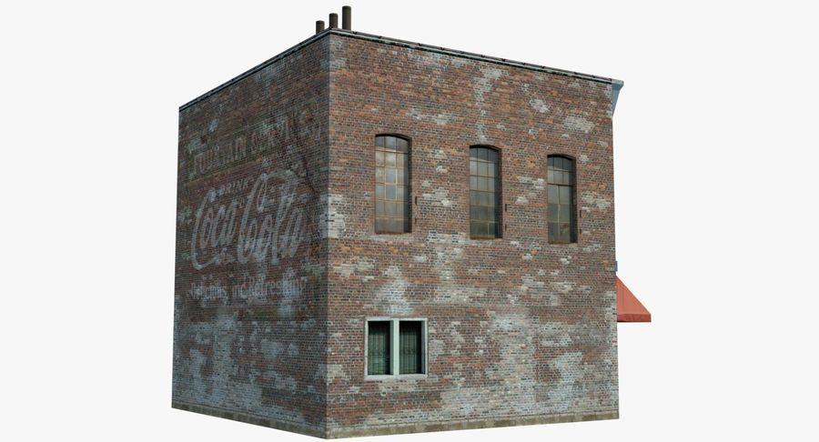Visitors Bureau Building royalty-free 3d model - Preview no. 16