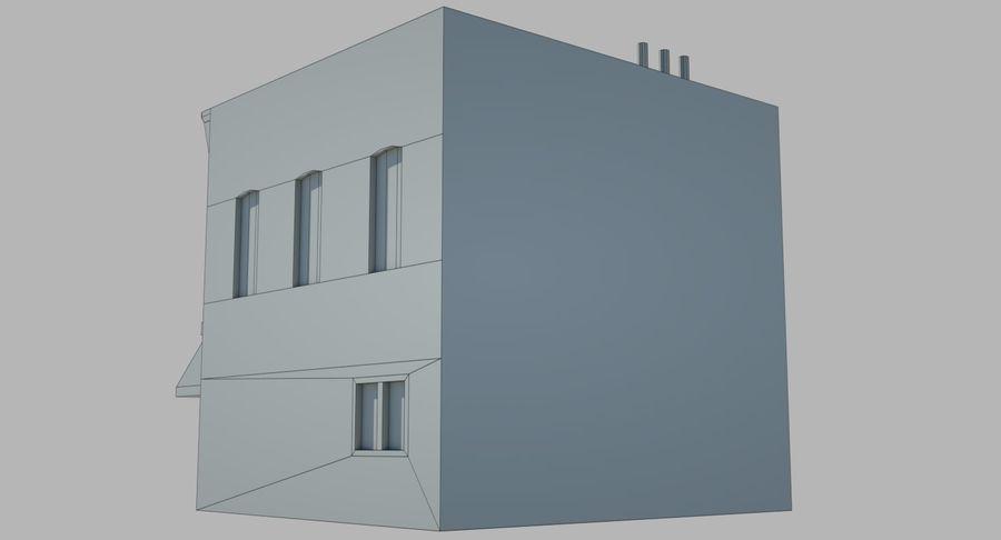 Visitors Bureau Building royalty-free 3d model - Preview no. 15