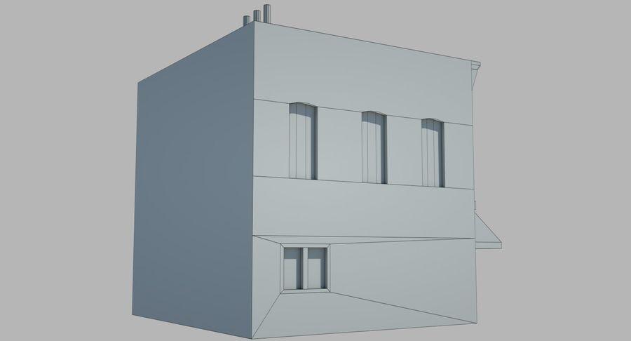 Visitors Bureau Building royalty-free 3d model - Preview no. 18