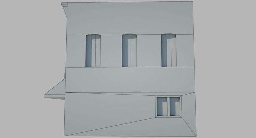 Visitors Bureau Building royalty-free 3d model - Preview no. 12