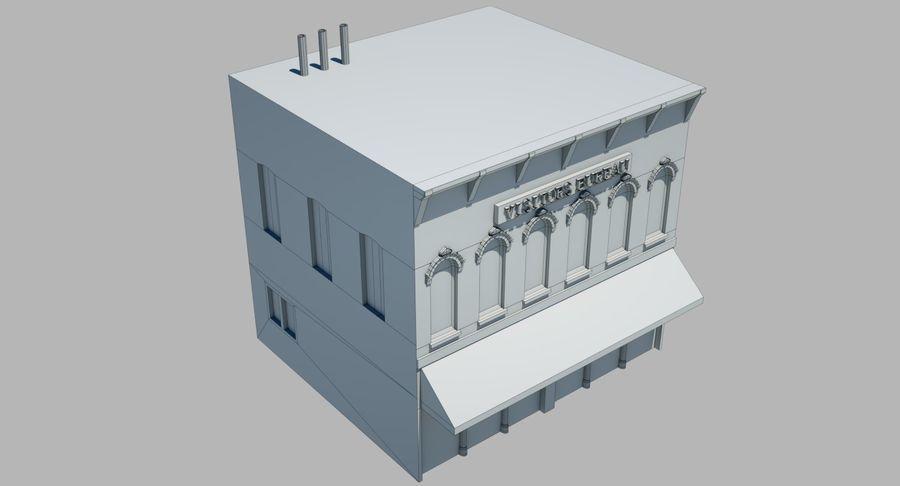 Visitors Bureau Building royalty-free 3d model - Preview no. 21