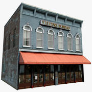 Visitors Bureau Building 3d model
