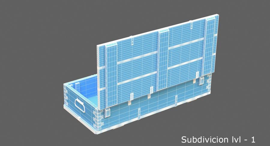 弾薬箱 royalty-free 3d model - Preview no. 14
