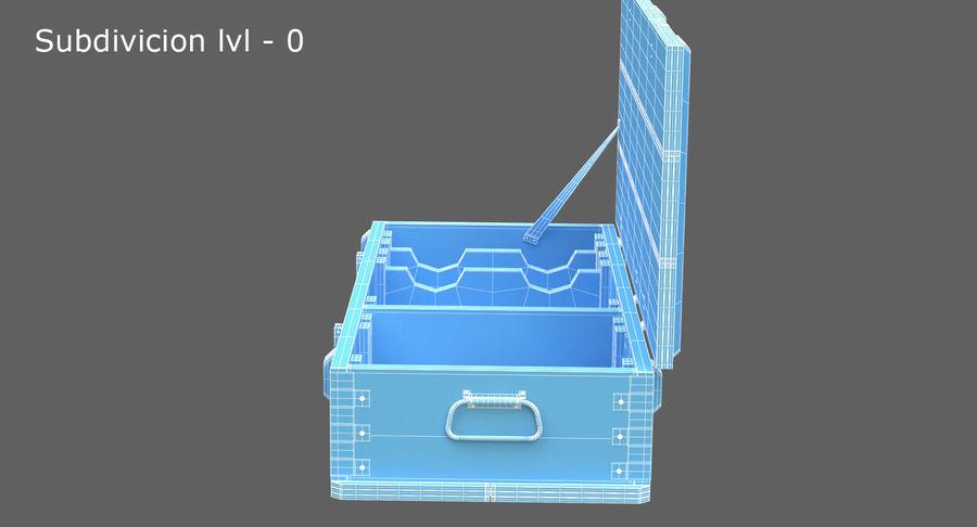 弾薬箱 royalty-free 3d model - Preview no. 32